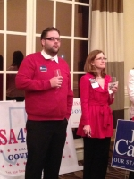JOSH PELTIER REPRESENTING HARVEY HILDERBRAN COMPTROLLER OF PUBLIC ACCOUNTS CANDIDATE and ANNETTE RATLIFF.jpg